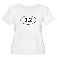3.2 Womens Plus-Size Scoop Neck T