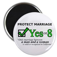 "Yes on 8 2.25"" Magnet (10 pack)"