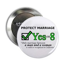 "Yes on 8 2.25"" Button (100 pack)"