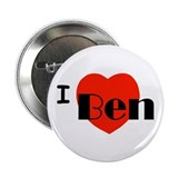 "I Love Ben 2.25"" Button"