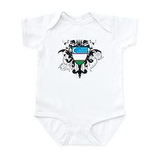 Stylish Uzbekistan Infant Bodysuit