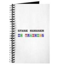 Stage Manager In Training Journal