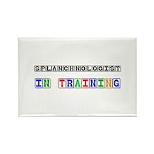Splanchnologist In Training Rectangle Magnet