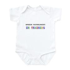 Speech Pathologist In Training Infant Bodysuit