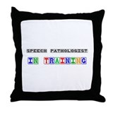 Speech Pathologist In Training Throw Pillow
