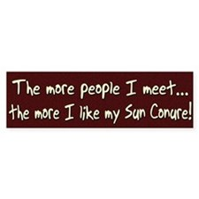 More People Sun Conure Bumper Bumper Sticker