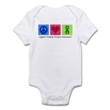 Peace Love Cure KD Infant Bodysuit