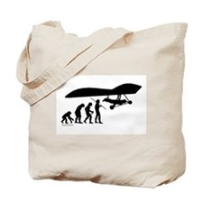 Hang Glider Evolution Tote Bag