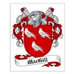 MacGill Family Crest Small Poster