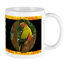 Jungle Sun Conure Mug