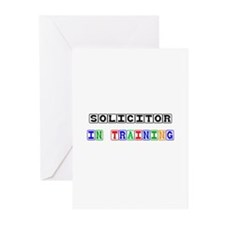 Solicitor In Training Greeting Cards (Pk of 10)