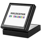 Solicitor In Training Keepsake Box