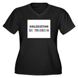 Solicitor In Training Women's Plus Size V-Neck Dar
