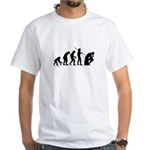 Thinker Evolution White T-Shirt