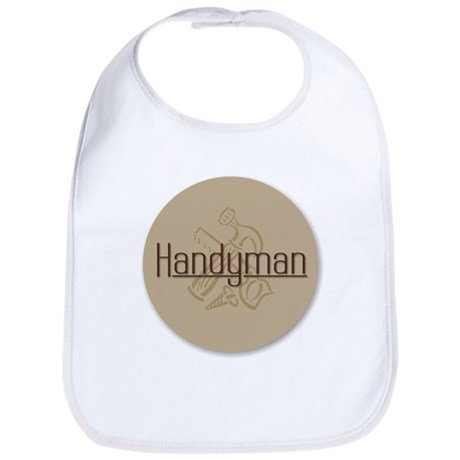 Handyman with Tools Bib