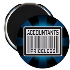 Accountants Priceless Barcode Magnet