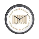 Assistant Directors Priceless Wall Clock