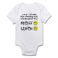 LUNCH AND RECESS Infant Bodysuit