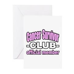 """Cancer Survivor Club"" Greeting Cards (Pk of 20)"