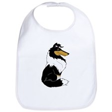 Rough Tricolor Collie Bib