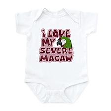 Kawaii Severe Macaw Infant Bodysuit