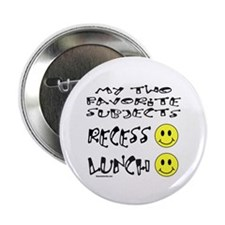 """LUNCH AND RECESS 2.25"""" Button (10 pack)"""