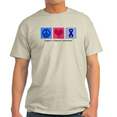 Peace Love Alopecia Light T-Shirt