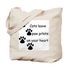 Cat Prints Tote Bag