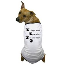 Dog Prints Dog T-Shirt