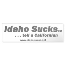 Idaho Sucks - Bumper Bumper Sticker