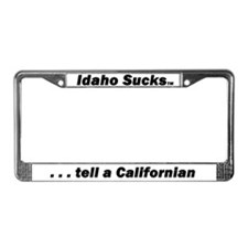 Idaho Sucks - License Plate Frame