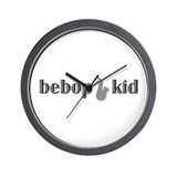 Bebop Kid Wall Clock