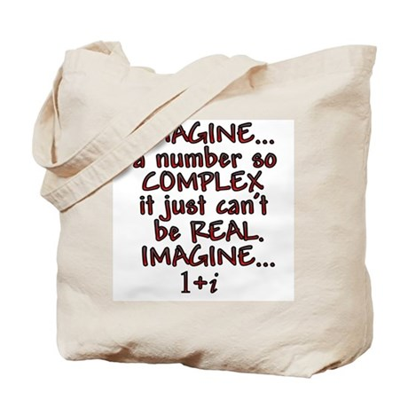 Imagine Complex Tote Bag