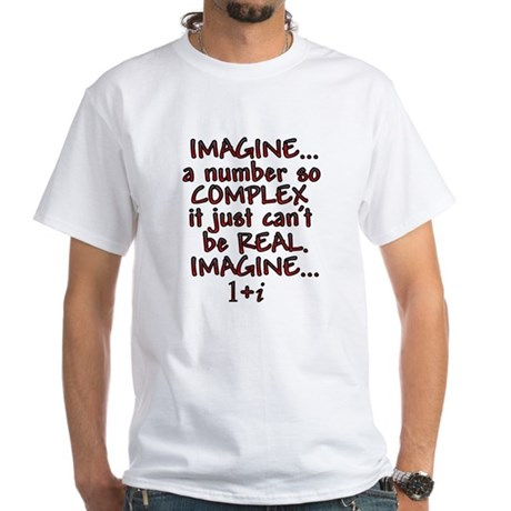 Imagine Complex White T-Shirt