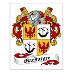 MacIntyre Family Crest Small Poster