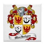 MacIntyre Family Crest Tile Coaster