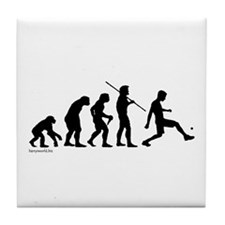 Foot Bag Evolution Tile Coaster