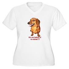 Looking at My Wiener Dachshun T-Shirt