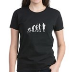 Bagpipe Evolution Women's Dark T-Shirt