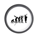 Bagpipe Evolution Wall Clock