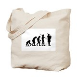 Bagpipe Evolution Tote Bag