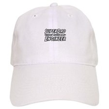 """SuperDad...Engineer"" Baseball Cap"