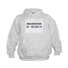 Recruiter In Training Kids Hoodie