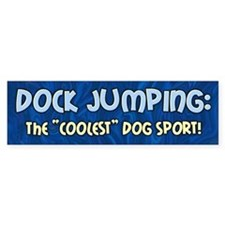 Coolest Dog Sport Bumper Bumper Sticker