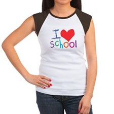 I Love (Heart) School Tee