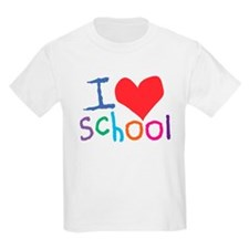 I Love (Heart) School Kids T-Shirt
