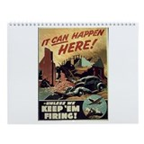 World War II Posters Wall Calendar