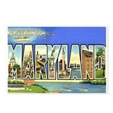 Maryland MD Postcards (Package of 8)