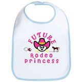 Future Rodeo Princess Bib