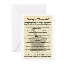 Pharmacist's Oath Greeting Cards (Pk of 20)